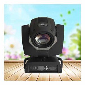 YEAHMO LED RGBW scène Spotlight, Moving Head Light 230W DMX512 Voix 16/20 Canal arc-en-17 Motif 14 Couleur + White Light Disco KTV Projecteur d'éclairage de scène (Color : Package B(2PCS))