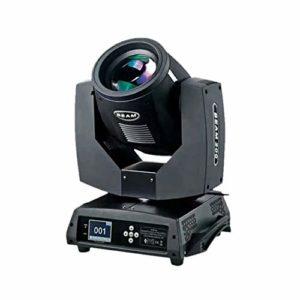 YEANMO 230W LED RGB scène Spotlight, Moving Head Light DMX512 Voix 16/20 Canal arc-en-14 Couleur + White Light Dimmable Éclairage Projecteur de scène (Color : Package B(2PCS))