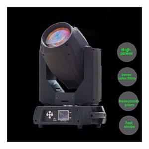 YEANMO 350W LED RGB scène Spotlight, Moving Head Light DMX512 Voix 16/20 Canal arc-en-13 Motif 13 Couleur + White Light Dimmable Spotlight scène éclairage (Color : Package B(2PCS))