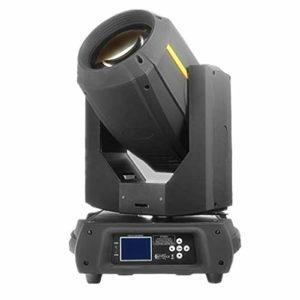 YEANMO 350W LED RGBW scène Spotlight, Moving Head Light DMX512 Voix 16/20 Canal arc-en-12 Motif 14 Couleur + White Light Disco KTV éclairage Projecteur de scène (Color : Package B(2PCS))