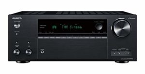Onkyo TX-NR696(B) Récepteur AV 7.2 Canaux (THX Cinema Sound, Dolby/DTS : X, Wifi, Bluetooth, Streaming, Applications Musicales, Spotify, Deezer, Radio, Multiroom, 175 W/Canaux), Noir