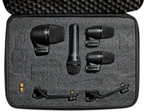 Shure PG ALTA 4-Piece Drum Microphone Kit (PGADRUMKIT4)