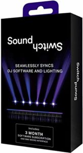 SoundSwitch DMX Micro Interface – USB vers interface DMX ultracompacte avec 3 mois dŽaccès gratuit au logiciel SoundSwitch, pour creer et personaliser des jeux de lumière et des éclairages de scènes
