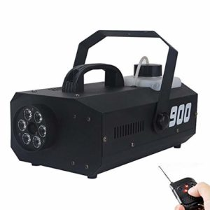 900W Télécommande Sans Fil Pour Machine À Brouillard, Un Générateur De Brouillard Portable Avec LED Lumière Refroidisseur De Machine De Brouillard, Avec Un Pulvérisateur À Fumée De Couleur LED