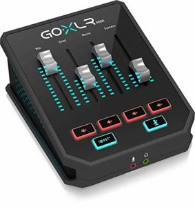GoXLR Mini – Mixer & USB Audio Interface for Streamers, Gamers & Podcasters