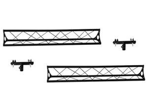 Structures acier 150 cm. x2 pieces avec support T LT-Truss 3