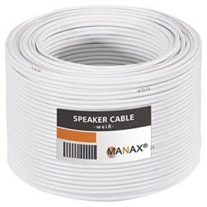 Câble pour Enceinte 2 x 1,5 mm² 50 m