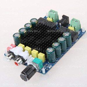 1 pcslot Amplificateur numérique haute puissance 2X100W amplificateur stéréo Dual Channel tda7498