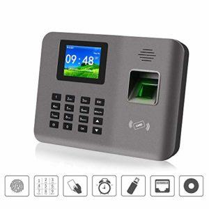 2.4inch TCP/IP/USB biométrique d'empreinte digitale Temps Machine Carte de présence Système de temps Logiciel d'horloge de l'appareil