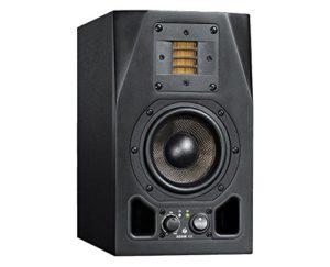 Adam Audio A3X 25W Noir Haut-Parleur – Hauts-parleurs (2-Voies, avec Fil, XLR, 25 W, 60-50000 Hz, Noir)