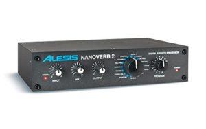 Alesis Nanoverb 2 – Processeur d'Effets Numérique avec 16 Variations par Preset pour 256 Programmes