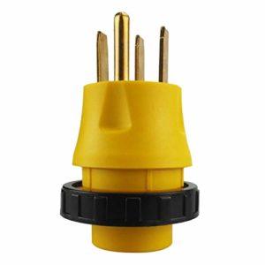 Almencla 14-50P à L5-30R 30 Amp 125 Volt RV/Generator Pigtail Adapter