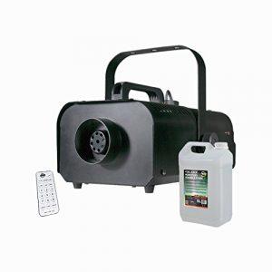 American DJ VF1100 Machine à fumée de brouillard sans fil avec éclairage disco DJ sans fil 1000 W