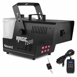 BeamZ Rage 1500 Machine à fumée LED 6 x 9W