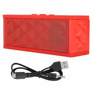 Bewinner Appels Mains Libres de Haut-Parleur sans Fil, Haut-Parleur Audio HD Bluetooth, Fonction de Rappel de Pile Faible, Haut-Parleur Portable bi-magnétique 16 cœurs avec radiateur, Cadeau