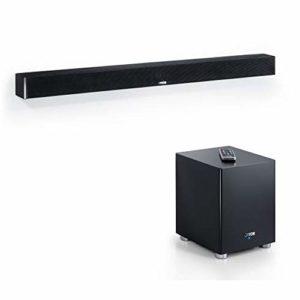 Canton DM 900 Soundbar mit wireless Subwoofer (400 Watt) schwarz