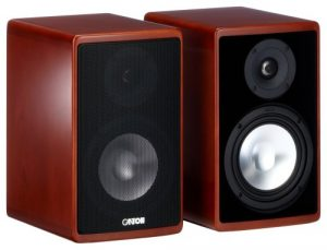 Canton Ergo 620 Enceinte Compacte 2-way Système Bass-reflex Cerise