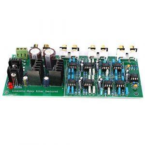 Carte d'amplificateur, carte de division de fréquence électronique à 3 voies Linkwitz-Riley à 3 voies 310 Hz/3,1 kHz, principalement utilisée dans les circuits de filtre actifs