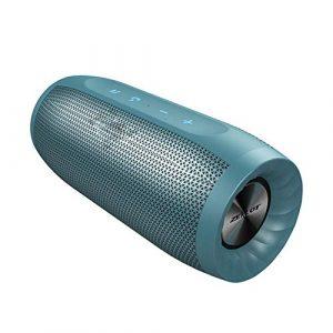 CZX S16 Colonne Haut-Parleur Bluetooth sans Fil d'extérieur Barre de Son Caisson de Basses Haute Puissance Haut-parleurs Portables étanches + SD Fente pour Carte,c