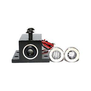 Diode Laser 450nm 50mw Focusable Blue Laser DOT Module 3.0-3.6V avec 12mm radiateur
