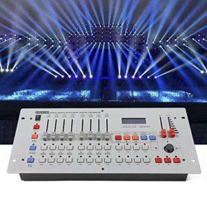 DMX 512 contrôleur console mélangeur 240 canaux canaux éclairage effets équipement