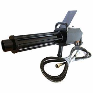 DMX Machine à Confettis Machine à Brouillard Puissante Confetti Cannon Launcher Lanceur de Confettis Professionnel Shot D'occasion pour Mariages Fêtes Halloween Noël