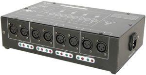 DMX-D8 – Amplificateur/distributeur DMX 8 voies
