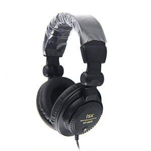 Docooler 960B sur L'oreille Professionnel Casque 3.5mm Studio Moniteur Dynamique Stéréo DJ HD Casques Musique Écouteur