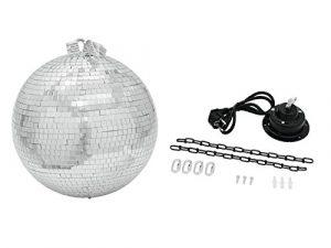 Eurolite Boule Disco 40 cm à miroirs – Accessoires (Multi, 230 V, 50 Hz, 400 x 400 x 400 mm, 4 kg)