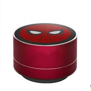 Ffshop Haut-Parleur Portable Bluetooth sans Fil Audio extérieur d'ordinateur portatif de subwoofer de Voiture de Haut-Parleur sans Fil Bluetooth portátiles (Color : Red)