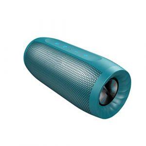 Ffshop Haut-Parleur Portable Bluetooth sans Fil Haut-Parleur Bluetooth Mini Haut-Parleur extérieur pour téléphone Portable portátiles (Color : Blue)