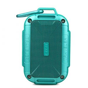 Ffshop Haut-Parleur Portable Bluetooth sans Fil Haut-Parleur extérieur portatif étanche IP5X Bass Bass Super Speaker Bluetooth portátiles (Color : Green)