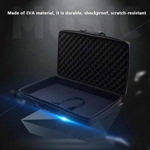 Fiaoen Sac de rangement antichoc pour contrôleur DJ Traktor Kontrol S2 Mk3 transportant un étui portable upgrade