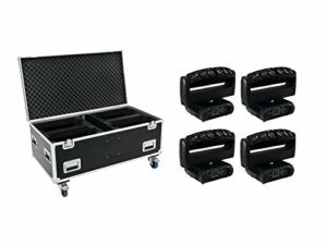 Futurelight 20000236 Set 4X Wave LED, Case Moving-Leiste, Case