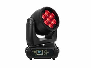 FUTURELIGHT EYE-740 QCL Zoom LED Moving-Head Wash | Wash professionnel avec mélange de couleurs RVB et zoom et Art-Net