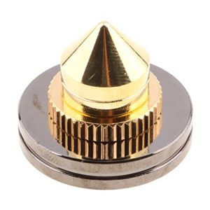 gazechimp Pointes De Haut-parleur Pied De Haut-parleur CD Audio Amplfier Platine Vinyle Isolement De Pointe De Perforation Pieds Isolant En Cône