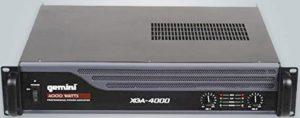 Gemini XGA 4000 Amplificateur de puissance Pro 2 x 350 W RMS