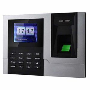 IP Temps biométrique d'empreintes digitales de présence Horloge Enregistreur de reconnaissance des employés machine.Dispositif électronique