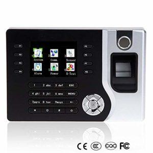 IP Temps biométrique d'empreintes digitales Horloge Enregistreur de présence des employés machine électronique punch lecteur