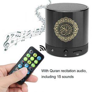 Jacksking 8 Go TF Carte USB De Charge sans Fil Télécommande Numérique Coran Haut-Parleur Coran Joueur Coran Haut-Parleur Musulman Joueur Cadeau