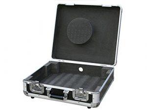 JB Systems TT-Case Valise flight-case pour platine vinyle Noir