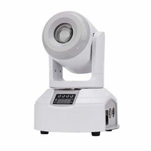 KELITE 60W LED RGB Spotlight scène, peut être obscurci Spotlight 8 couleurs Gobo rotatif de roue de couleur Changement de scène d'éclairage (Size : Package C(4 PCS))