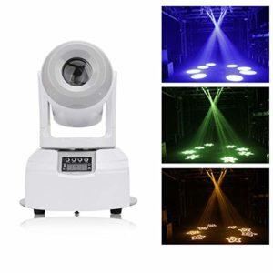 KELITE 60W RGB LED de scène, 8 couleurs 4 modes de contrôle LED de couleur en mouvement Head Light Changer scène éclairage (Size : Package C(4 PCS))
