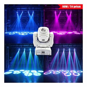 KELITE 90W Dj Disco Projecteur Spot Lights Moving Head Light RGBW lumières de la scène Party Stage Lights restaurant en direct éclairage de concert (Size : Package C(4 PCS))