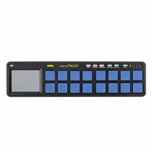 Korg NanoPAD2 Slimline MIDI 16 Pad Contrôleur USB Bleu Jaune