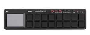 Korg NanoPad2-BK Surface de contrôle 16 Pads Noir