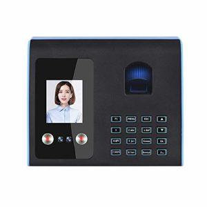 La présence d'empreintes digitales intelligente machine visage Mot de passe Reconnaissance d'empreintes digitales Mix biométrique horloge for les employés minuteries for les entreprises
