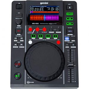 Lecteur CD Gemini mdj-500 Slot MP3 USB Disp.LCD