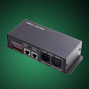 LED DMX 512 décodeurs à 3x4A 12V / 24V LED RGB