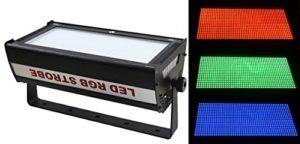 Led Strobe, Atomic Strobe, RGB 3IN1,1000W Flashing Light, Flashbulb, Stroboscopic, 90 / 240v, 50 / 60HZ, Use For Disco, Ballroom, KTV, Bar, Club, Party, Wedding